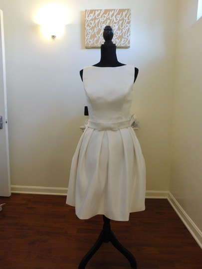 Ivory/Cafe Wedding Dress Size 12 (L)