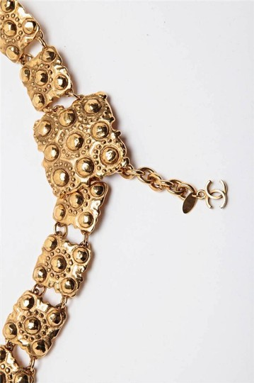 Chanel Season 23 VINTAGE Gold Tone Metal Chainlink BELT