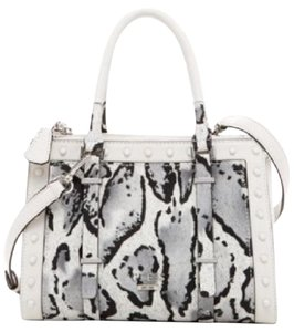 Guess Satchel in White and Black