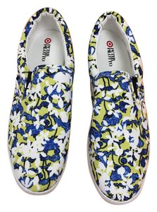 Peter Pilotto for Target Floral Sneakers Slip On Flats