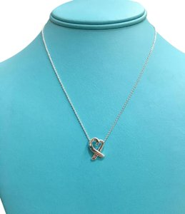 Tiffany & Co. GORGEOUS Tiffany & Co. Paloma Picasso Loving Heart Pendant 16