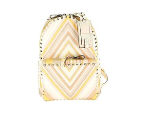 Valentino Rockstud Patterned Women Couture Backpack
