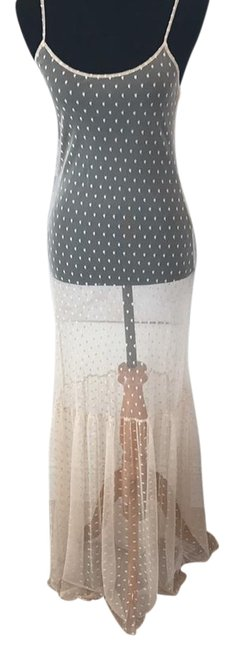 Preload https://img-static.tradesy.com/item/21203752/only-hearts-nudebeige-sheer-long-casual-maxi-dress-size-4-s-0-1-650-650.jpg
