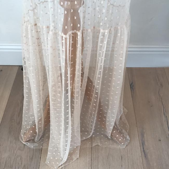 nude/beige Maxi Dress by Only Hearts Image 3