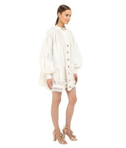 Just Cavalli short dress off white on Tradesy