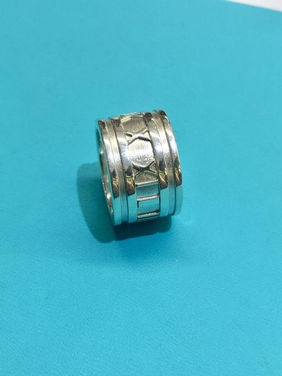 Tiffany & Co. CLASSIC Tiffany & Co. Wide Atlas Ring Size 5 Image 5