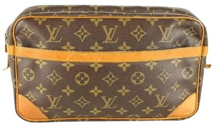 Louis Vuitton Canvas Clutch