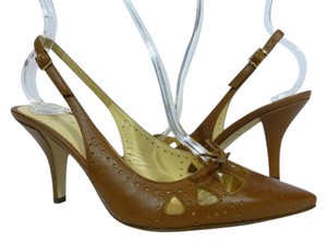 Kate Spade Leather Italy Brown Pumps