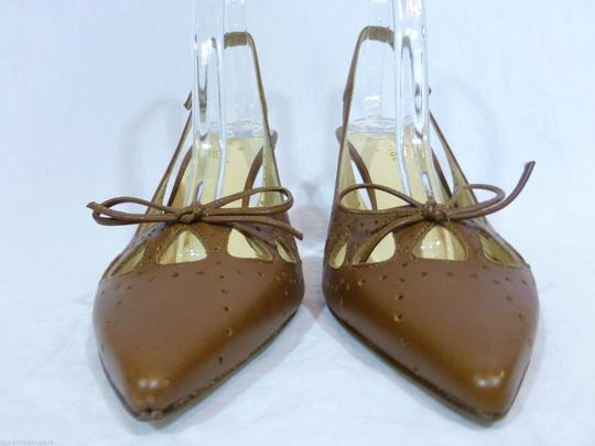 Kate Spade Leather Italy Brown Pumps Image 2