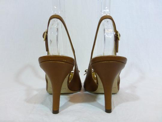 Kate Spade Leather Italy Brown Pumps Image 3