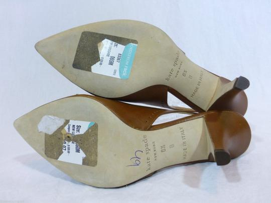 Kate Spade Leather Italy Brown Pumps Image 4