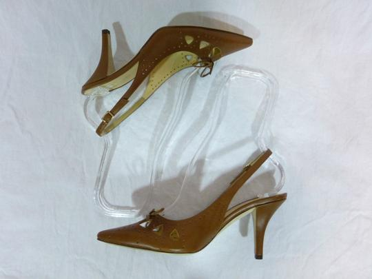 Kate Spade Leather Italy Brown Pumps Image 5