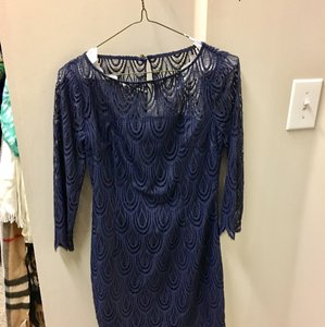 Lilly Pulitzer short dress navy blue on Tradesy