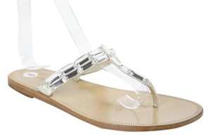 Vera Wang Lavender Label Silver Sandals
