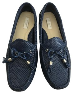 Cole Haan Moccasin Driver Grant Blue Flats