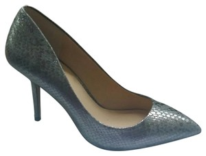 Vince Camuto Steel Exotic Glam Pumps