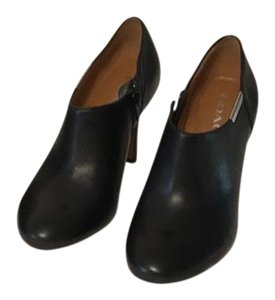 Coach Genuine Black Leather Boots