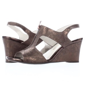Anne Klein Bronze Platforms