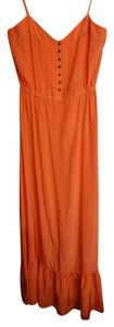 Coral / Pink Maxi Dress by Twelfth St. by Cynthia Vincent Maxi