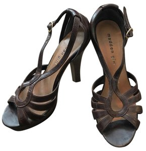 Madden Girl Brown Pumps