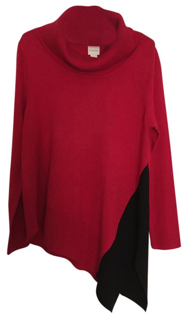 Preload https://img-static.tradesy.com/item/21204773/chico-s-red-and-black-sweater-0-1-650-650.jpg
