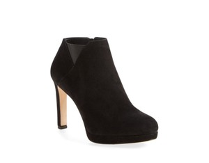 Via Spiga Suede Black Boots
