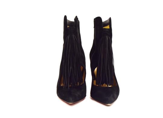 Christian Louboutin Side Zip Closure black Boots