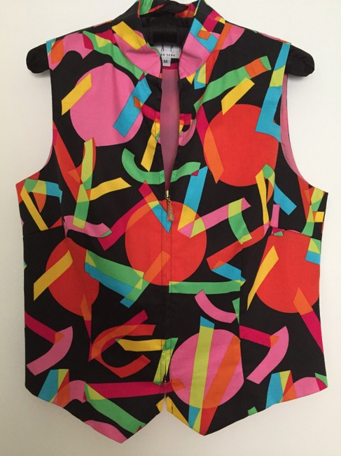 Tapp New York Colored Party Fun Vest Image 1