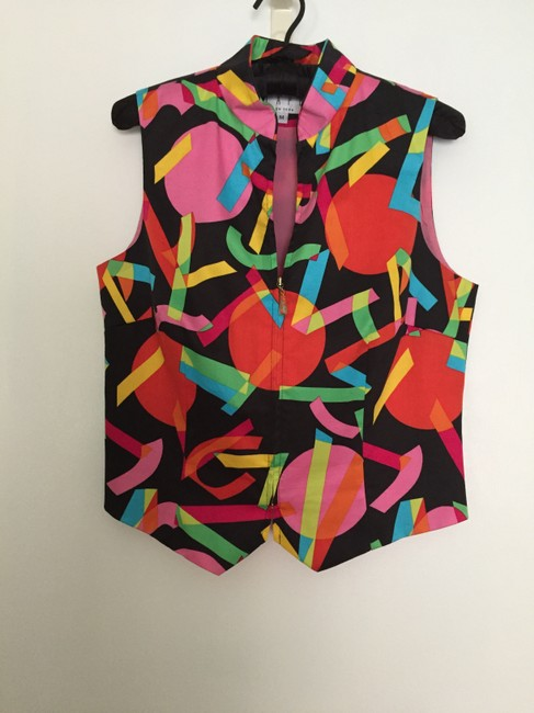 Tapp New York Colored Party Fun Vest Image 2