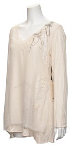 Johnny Was Tattered Silk Lace Tunic