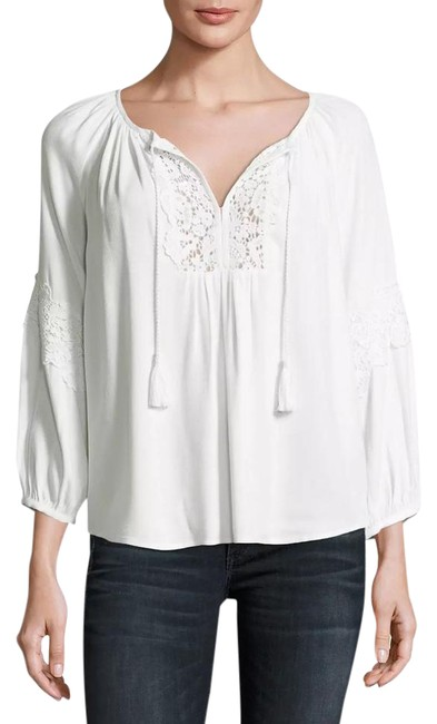 Preload https://img-static.tradesy.com/item/21205050/joie-orval-lace-trim-peasant-blouse-size-2-xs-0-1-650-650.jpg
