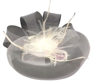 Birdcage Feathered Hat/Fascinator Bridal Veil