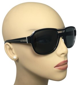 Chanel Rare Chanel Black and Clear Square Sunglasses 5194 c.770/3F 57