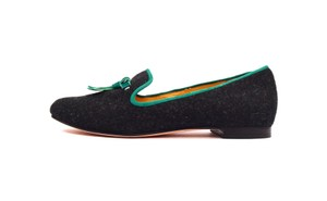 Cole Haan Black/Teal Flats