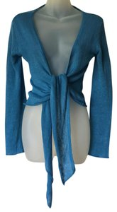 Calypso St. Barth Open Front Cardigan; 100% Linen St. Cardigan