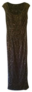 Sue Wong Formal Gown Beaded Sequin Dress