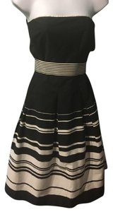 Black & White Fit -and-Flare Dress by White House White Market Dress