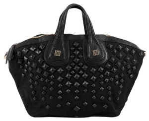 Givenchy Nylon Satchel in Black