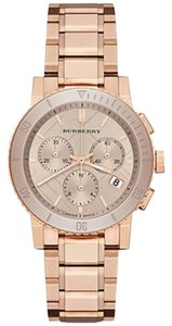 Burberry Burberry Rose Gold Color Stainless Steel Chronograph Watch BU9703
