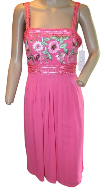 Preload https://img-static.tradesy.com/item/21205703/sue-wong-bright-pink-dark-embroirdered-pleated-ribbon-short-cocktail-dress-size-6-s-0-1-650-650.jpg