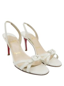 Christian Louboutin Louboutin Heels Strappy Heels White Pumps