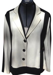 Chico's Black/Ivory Jacket