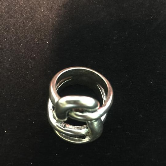 Other Avant Garde Silver Knot Ring Image 4
