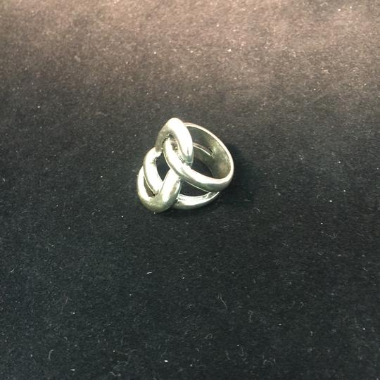 Other Avant Garde Silver Knot Ring Image 6