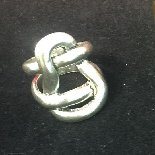 Other Avant Garde Silver Knot Ring Image 8