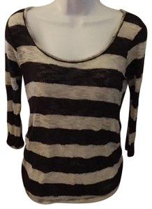 Stripe Maternity Sweater by Belly by Design Sweater