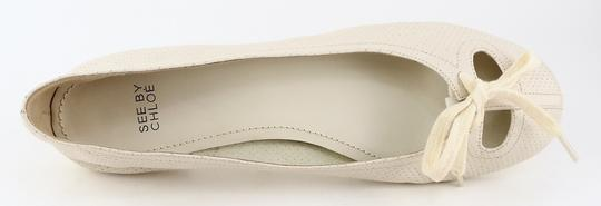 See by Chloé Comfortable Sb14030 Eur 41 Latte Flats Image 2