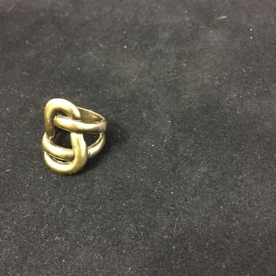 Other Avant Garde Brass Knot Ring Image 4