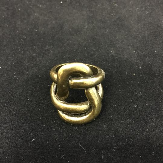 Other Avant Garde Brass Knot Ring Image 5