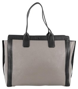 Chloé Chloe Leather Tote in Grey